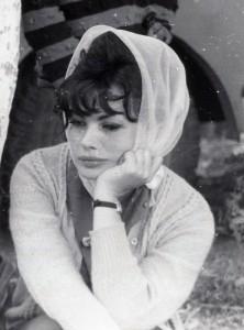 Ewa Krzyżewska w roku 1960 (arch. rodzinne, wszelkie prawa zastrzeżone)